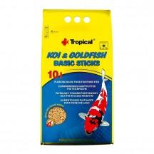 Tropical KOI&GOLDFISH Basic lazdelės, 10 l (maišas)