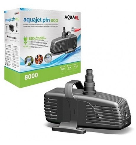 AquaJet PFN 8000 Eco fontano pompa, 52 W