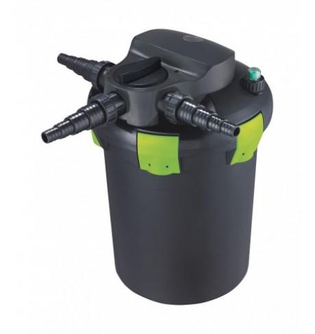 AQUA NOVA tvenkinių slėginis filtras su UV lempa ir clean sistema - NBPF 9000, 11 W